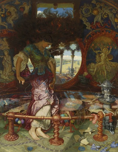 William Holman Hunt The Lady of Shalott 1886-1905