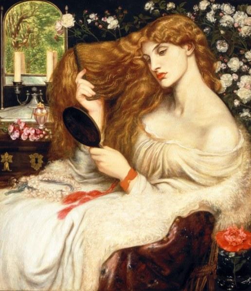 Dante Gabriel Rossetti Lady Lilith, 1866-1868