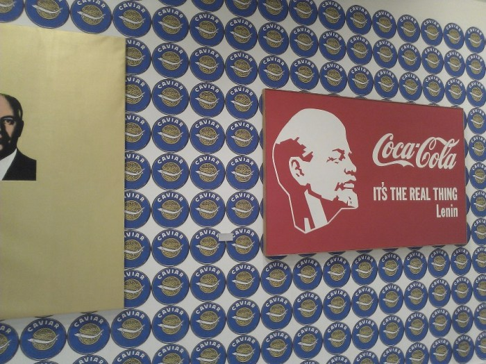 Lenin meets Coca-Cola - Moscow Art installation view