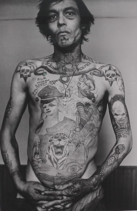 from Sergei Vasiliev's Russian Criminal Tattoo Encyclopaedia Prints 2010