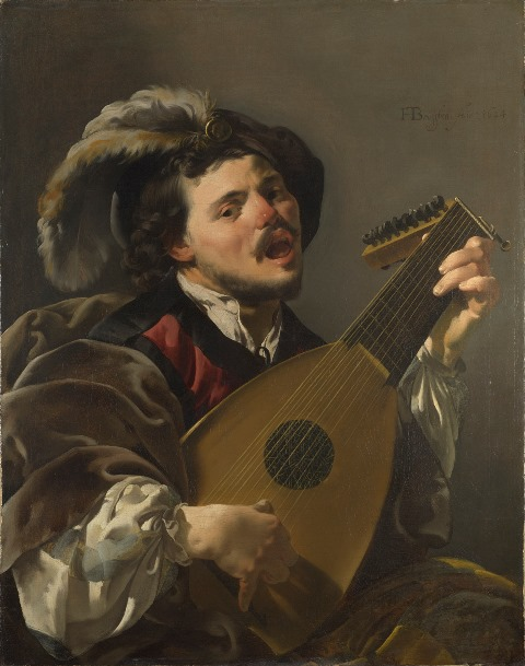 Man with Lute