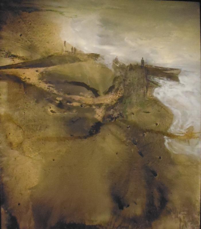 Michael Andrews - Thames painting: Estuary