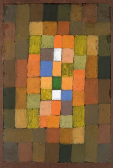 Klee, Paul (1879-1940): Static-Dynamic Gradation, 1923. New York, Metropolitan Museum of Art