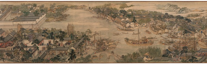 Prosperous Suzhou (detail) Xu Yang 1759 © The Liaoning Provincial Museum Collection