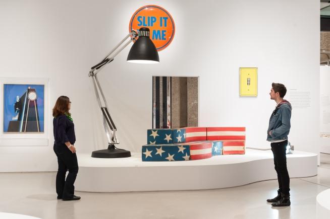 Installation view - Pop Art Design