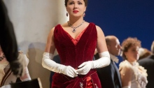 Anna Netrebko as the mature Tatiana in Eugene Onegin