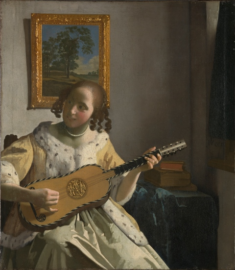 Vermeer Guitar Player