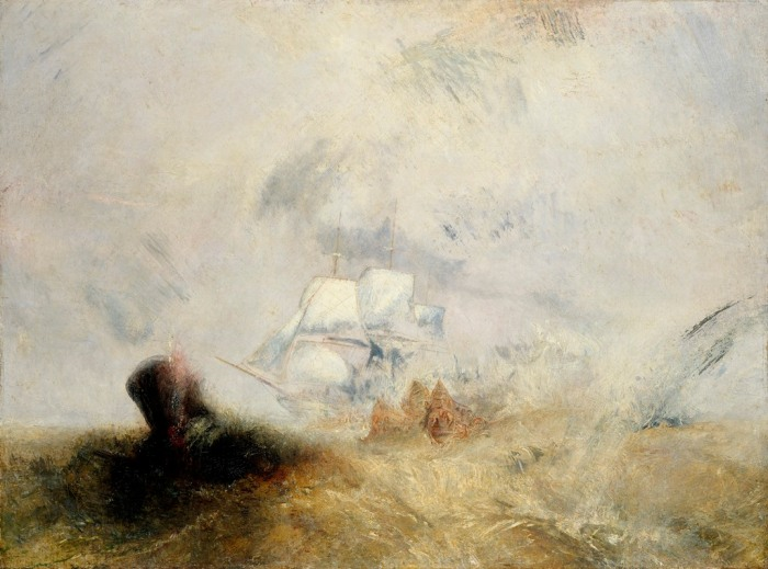 Whalers (also known as The Whale Ship) by J.M.W. Turner, 1845, oil on canvas © Metropolitan Museum of Art