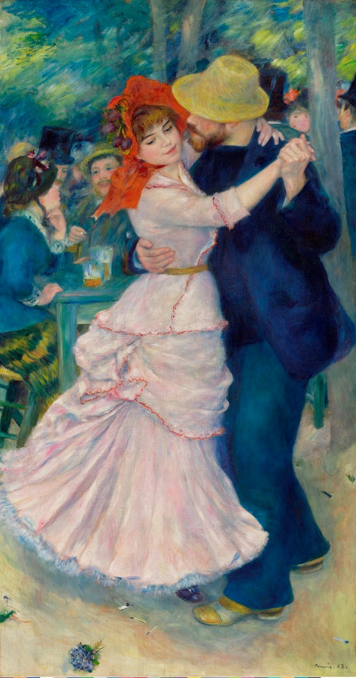 The Dance at Bougival, 1883