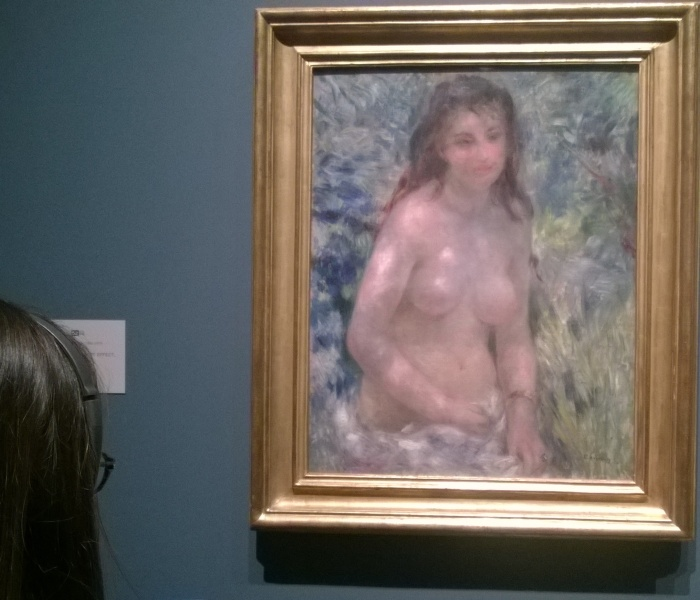 Renoir's Nude in Dappled Sunlight - harshly criticised