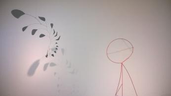 Alexander Calder installation view