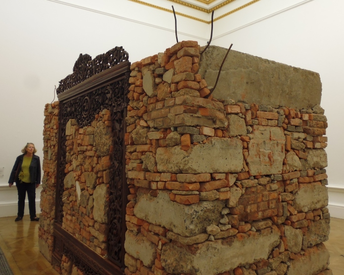 Ai WeiWei - Rubble from his Shanghai studio