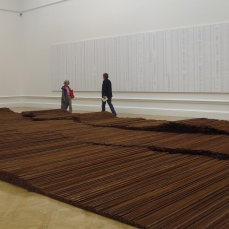 Ai WeiWei - Installation of Straight at Royal Academy