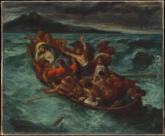 Christ on the Sea of Galilee, 1853