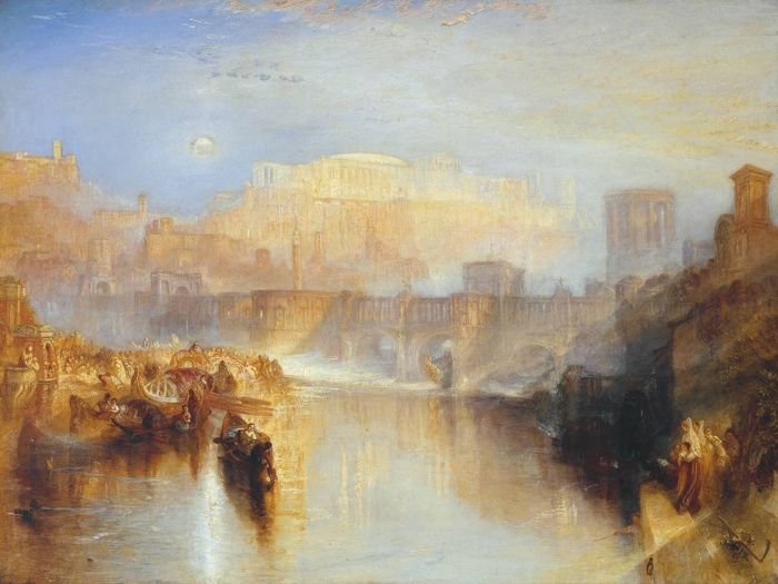 Ancient Rome; Agrippina Landing with the Ashes of Germanicus