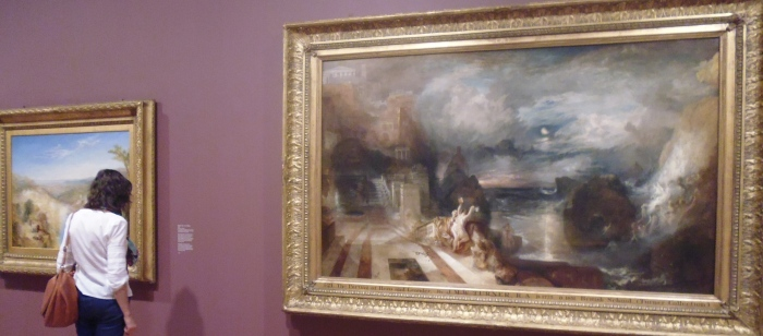 Installation shot - Late Turner - myths remained a favourite subject