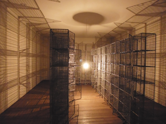 Mona Hatoum's Light Sentence 1992