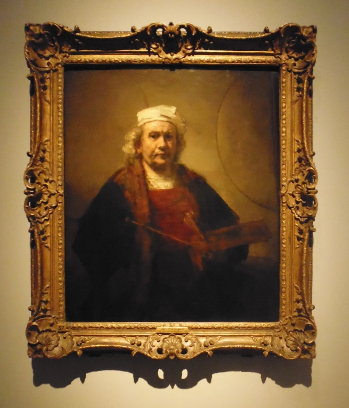 Rembrandt - the late self-portrait from Kenwood