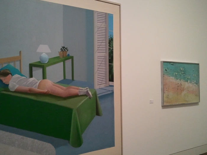 David Hockney The Room Tarzana installation image