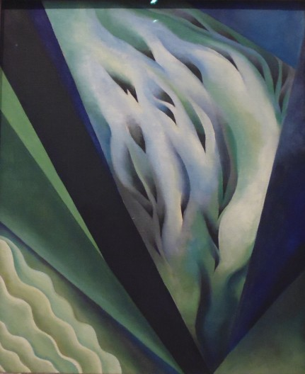 Georgia O'Keeffe - Blue and Green Music 1919/21 The Art Institute of Chicago