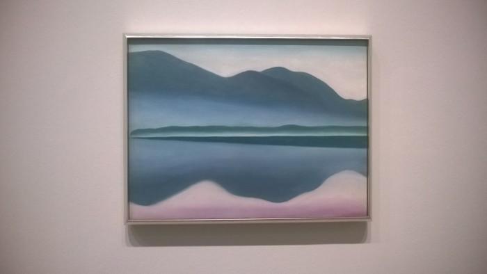 Georgia O'Keeffe - Lake George series (2)