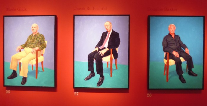 Hockney portraits