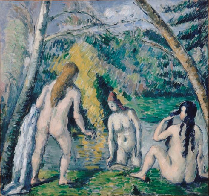 Three Bathers, 1879-1882