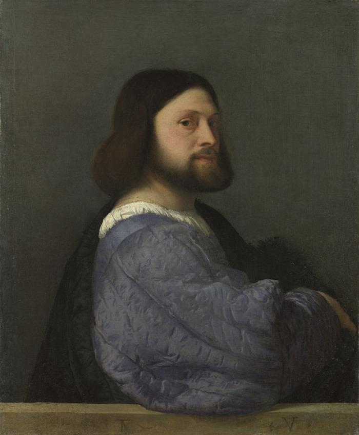 NG Titian Portrait of Gerolamo Barbarigo 1510