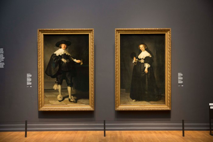 Rijjksmuseum - Rembrandt marriage portraits